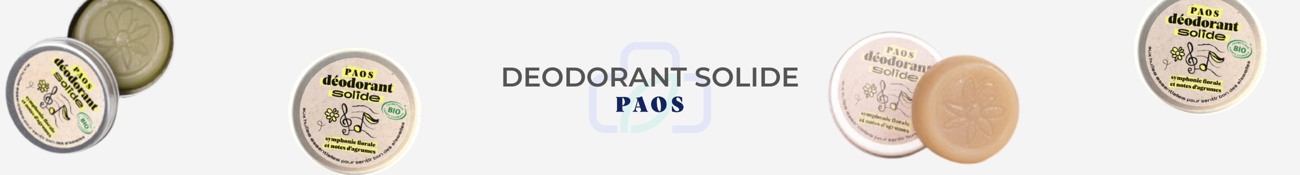 BANNIERE PAOS DEODORANT SOLIDE AISSELLE
